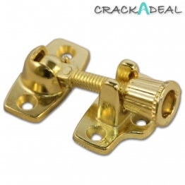 Sash Window Fastener Electro Brass