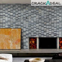 Terre Charcoal Mix 23x48 Tile