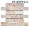 Travertine Brick Mosaic Tile