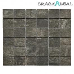 Zion Anthracite Mosaic Tile