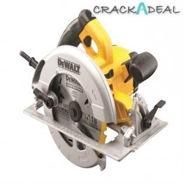 Dewalt Dwe575kl Precision Circular Saw 190mm Kitbox 110v