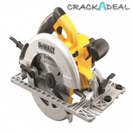 Dewalt Dwe576k Precision Circular Saw And Track Base 1600w 240v