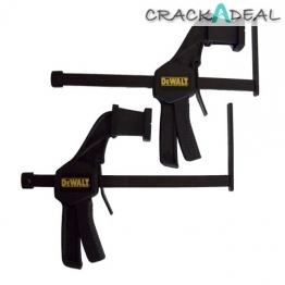 Dewalt Dws5026 Plunge Saw Clamp For Guide Rail X 2 Supplied
