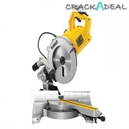 Dewalt Dws778 Compact Sliding Mitre Saw 250mm Blade 1850w 110v