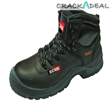 Scan Lynx Brown Safety Boots S1p Uk 7 Euro 41