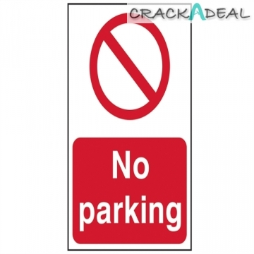 Scan No Parking - Pvc (200 X 300mm)