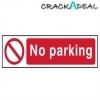 Scan No Parking - Pvc (200 X 50mm)