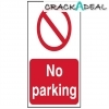 Scan No Parking - Pvc (400 X 600mm)