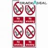 Scan No Smoking - Pvc (200 X 300mm)