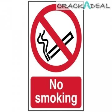 Scan No Smoking - Pvc (400 X 600mm)
