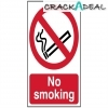 Scan No Smoking - Pvc (400 X 600mm)