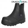Scan Ocelot Dealer Boot Black Uk 12 Euro 46
