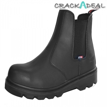 Scan Ocelot Dealer Boot Black Uk 7 Euro 41