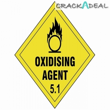 Scan Oxidising Agent 5.1 - 100 X 100mm Sav Diamond
