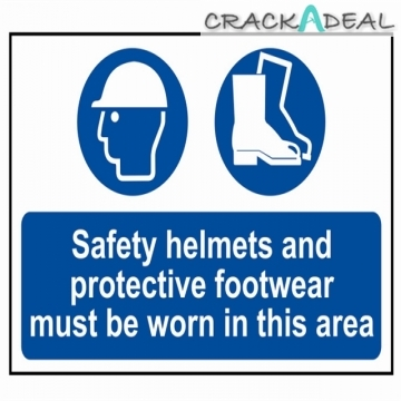 Scan Safety Helmets + Footwear To Be Worn