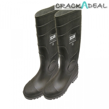 Scan Safety Wellingtons Size 8
