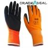 Scan Scaglolatol Orange Foam Latex Coated Glove 13g Large