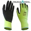 Scan Scaglolatyl Yellow Foam Latex Coated Glove 13g Large
