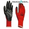 Scan Scaglonitbxl Palm Dipped Black Nitrile Glove Xl