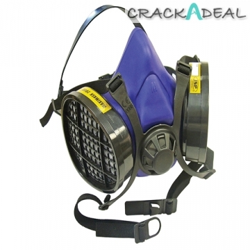 Scan Twin Half Mask Respirator + Cartridges