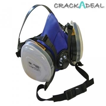 Scan Twin Half Mask Respirator + P2 Refills