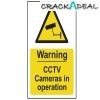 Scan Warning Cctv Cameras In Operation - Pvc (200 X 300mm)
