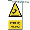 Scan Warning Wet Floor - Pvc (200 X 300mm)