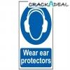 Scan Wear Ear Protectors - Pvc (200 X 300mm)