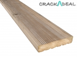 Decking Redwood Treated Green 38mm X 148mm