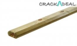 32 X 68mm X 2.4m Large Traditional Decking, Base Rail
