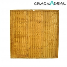 Close Board Fence Panel Dip Treated 1828mm X 1525mm