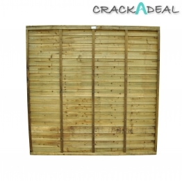 Super Lap Fence Panel Pressure Treated 1828mm X 915mm