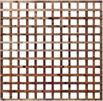 Wooden Trellis Fence Panel Pressure Treated 1828mm X 1828mm (6ft X 6ft)