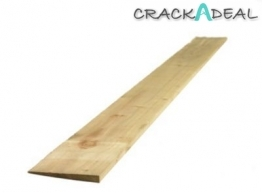 Featheredge Board Treated Green (2 Ex) 22mm X 150mm X 2400mm