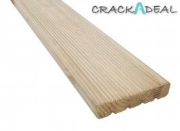 Vida Treated Decking Board - 38mm X 150mm X 3m