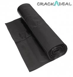 Visqueen Polythene Damp Proof Membrane Bba Black 4m X 25m 300mu