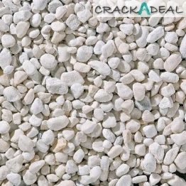 Spanish White Pebbles - Bulk Bag