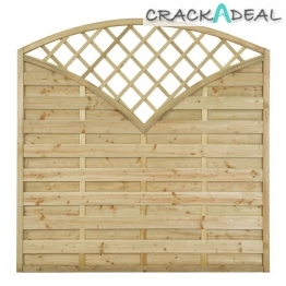 Fence Panel Finedon Pressure Treated 1800mm X 1800mm