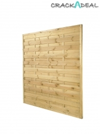 Fence Panel Duston Square Top Pressure Treated 1800mm X 1800mm