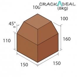 Marshalls Keykerb Km Sp Angle External Brindle