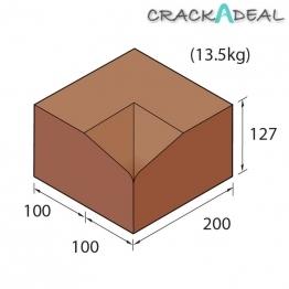 Marshalls Keykerb Kl Hbf Flat Angle Internal Charcoal