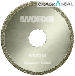 Worx Wa2714 Diamond Coated Sawblade, 63 Mm