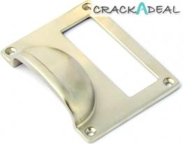 Blake Cardframe Furniture Handle, Satin Nickel