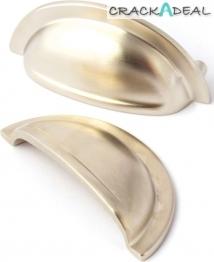 Blake Cup Handles, Satin Nickel