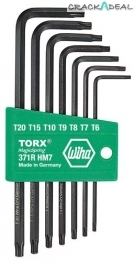 Torx Key Set With Magic Ring, 7 Pc