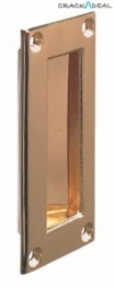 Flush Pull Handle, 89 X 41 Mm