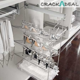 Pull-out Shoe Rack, Side Mounted