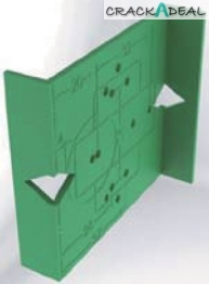 Marking Jig For Tiomos Concealed Hinges