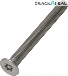 6-lobe/machine Screws, Countersunk, M6