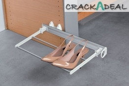Pull-out Folding Shoe Rack